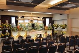 柿崎セレモニーホールへいあんの葬儀式場です