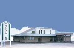 安中市原市にある民営斎場「JAアシストホール碓氷安中」の外観です。