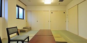 公益社 太平斎場の遺族控室