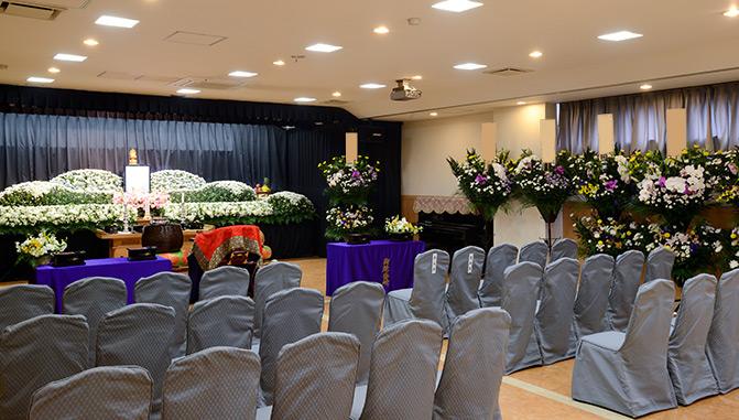 フローラルプラザ宮町の葬儀式場