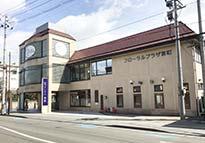 仙台市青葉区にある民営斎場「フローラルプラザ宮町」の外観です