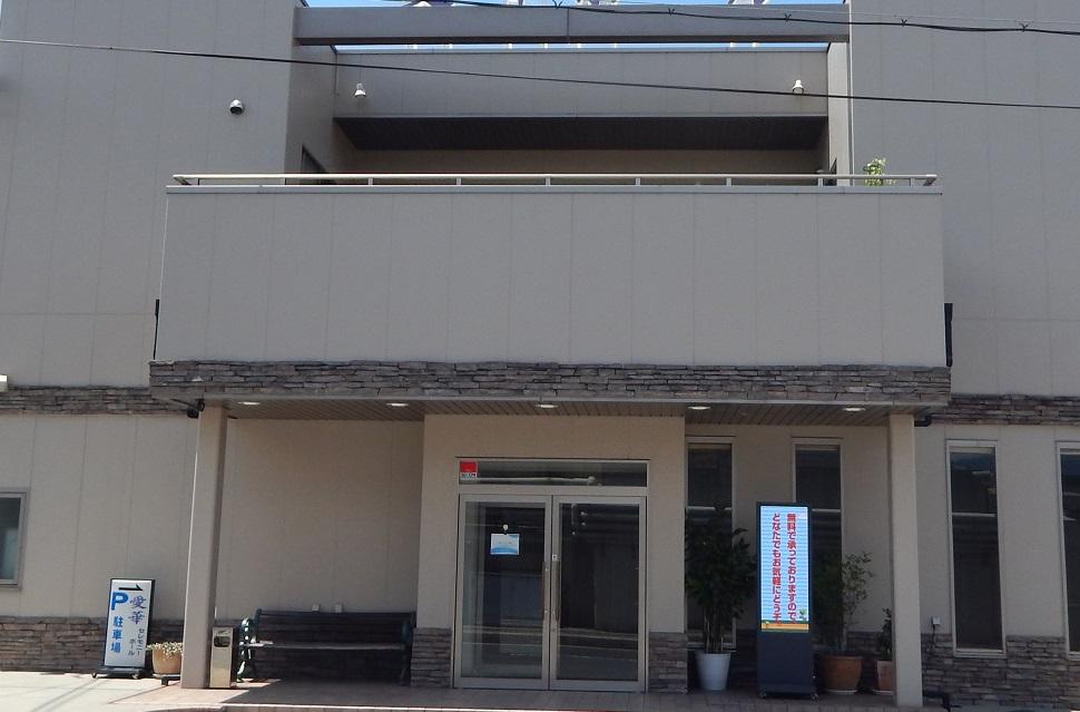 河内長野市上原西町にある民営斎場「河内葬祭」の外観です