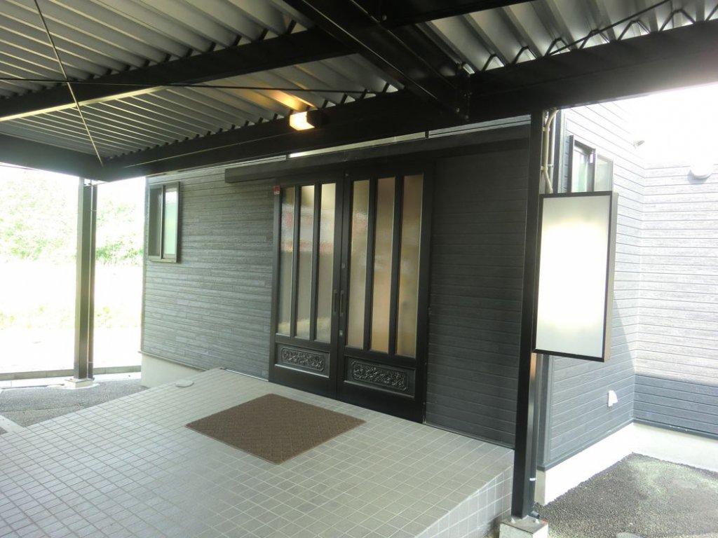 メモリアル愛敬(宮城県仙台市)のみおくりの家の入口