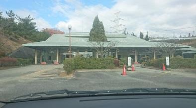 宝塚市営火葬場の外観です