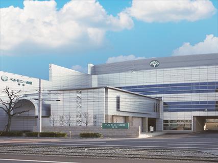 ベルモニー会館 知寄(高知県高知市)の外観。国道55号沿いにある