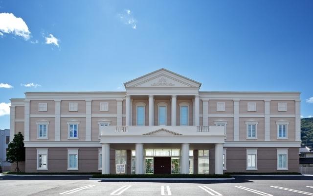 上田市国分にある民営斎場「国分法事センター」