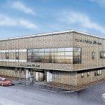 仙台市泉区にある民営斎場「セレモニア南光台 椿会館」の外観です